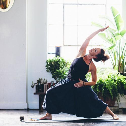 Tina Porter Yoga Reverse Warrior